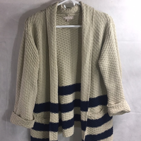 Benedetta.B Sweaters - Benedetta.B striped sweater cardigan